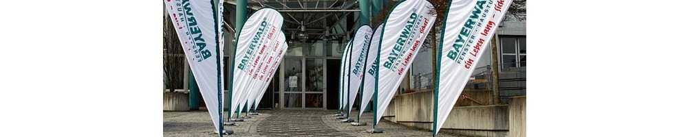 Fly Banners para Surf Personalizados y Baratos, para Empresas y para Eventos
